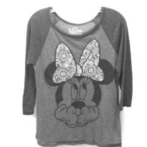 MINNIE MOUSE BASEBALL T